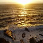 Sunset On The Rocks by Clickerpic