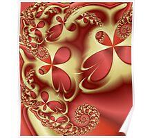 Transparent Petals Poster