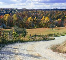 Fall on Kentucky Backroads by G. David Chafin