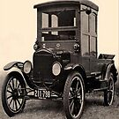 Vintage Antique Car-Available As Art Prints-Mugs,Cases,Duvets,T Shirts,Stickers,etc by Robert Burns