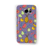 Tropical Blast in Purple Samsung Galaxy Case/Skin