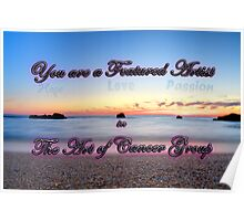 Banner for The Art for Cancer Poster