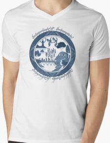 Fellowship of the Ring Mens V-Neck T-Shirt