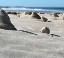 Sand sculptures Sticker