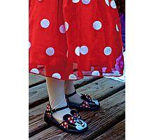 Mini Minnie Photographic Print