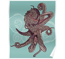 Octopus Bloom Poster