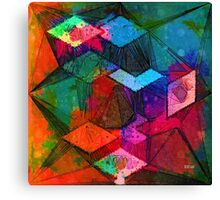Isometric Tangles Canvas Print
