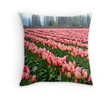 """Tulip Festival"" Throw Pillow"