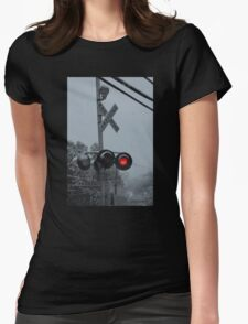 Stop Snowing! Womens Fitted T-Shirt