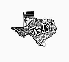 Hipster Texas State Zentangle Unisex T-Shirt