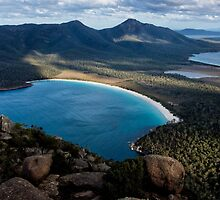 Wineglass Bay by Kristin Repsher