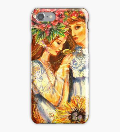 PATCH WORK FAIRY iPhone Case/Skin