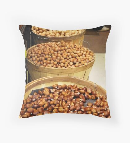 Nuts Anyone? Throw Pillow