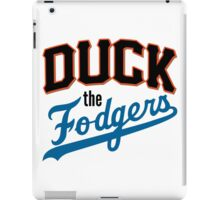 Duck The Fodgers! iPad Case/Skin