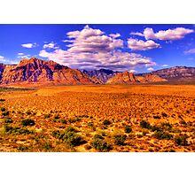 Red Rock Canyon - Near Las Vegas, Nevada Photographic Print