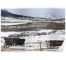 Western Wagons Poster