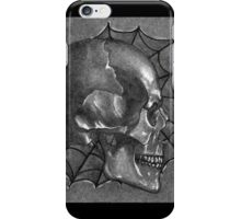 Black White and Grey Anatomy Tattoo Design and Illustration iPhone Case/Skin