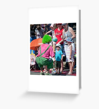 Open Mouthed Greeting Card