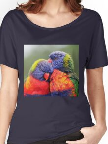 Canoodling in the Mist Women's Relaxed Fit T-Shirt