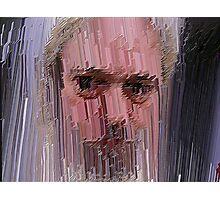 Tremulous Self-Portrait wit Rejected Sentiment Photographic Print