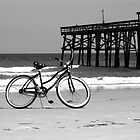 Bike on the beach by jackdouglas