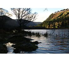 Glendalough lake Photographic Print