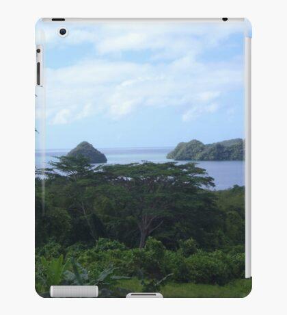 a desolate Palau landscape iPad Case/Skin