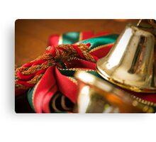 Christmas Ribbon Canvas Print