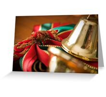 Christmas Ribbon Greeting Card