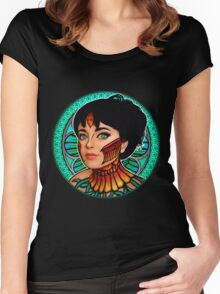 Phoenix Art Nouveau Women's Fitted Scoop T-Shirt