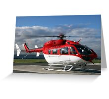 Helicopter Eurocopter EC145 #2 Greeting Card
