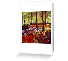 Keukenhof Light & Shadows Greeting Card