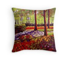 Keukenhof Light & Shadows Throw Pillow