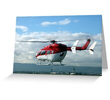 Helicopter Eurocopter EC145 #3 Greeting Card