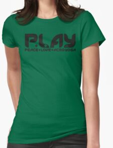 P.L.AY logo Womens Fitted T-Shirt