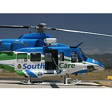 Helicopter Bell 412 #2 Photographic Print