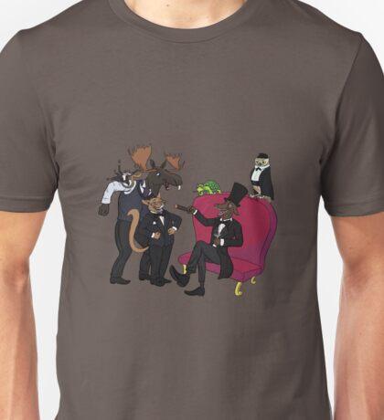 Classy animal party Unisex T-Shirt