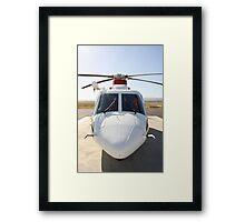 Helicopter Sikorsky S 76A #2 Framed Print