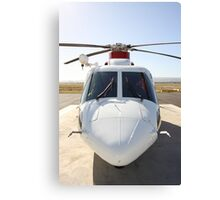 Helicopter Sikorsky S 76A #2 Canvas Print