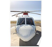 Helicopter Sikorsky S 76A #2 Poster