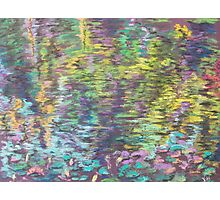Reflection (pastel) Photographic Print
