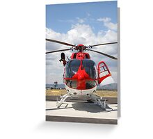 Helicopter Eurocopter EC145 #4 Greeting Card