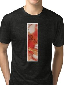 Ink Red Sunset Tri-blend T-Shirt