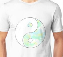 Paint Splash Ying Yang Unisex T-Shirt