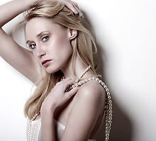 Pearl Necklace by Man kit Wong