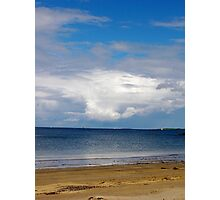 beautiful clouds on a summer's day Photographic Print