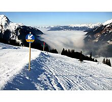 Herrliche Berge, sonnige Höhen..... Photographic Print