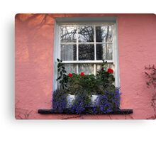 Bunratty Folk Park window Canvas Print