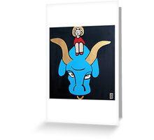 Taurus - Capricorn rising Greeting Card