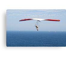 Hanging around on the Horizon - Strezleki Lookout Newcastle NSW Canvas Print